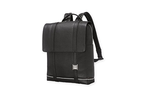 Moleskine Lineage Backpack, Leather, Black