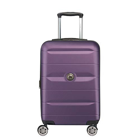 DELSEY Paris Luggage Comete 2.0 Limited Edition Carry-on Hardside Suitcase, Plum