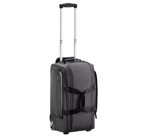 Zero Halliburton Zest Wheeled Carry-On Duffel, Black, One Size