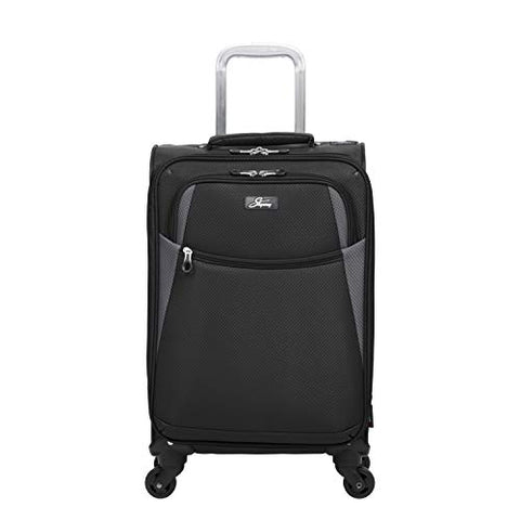 "Skyway Encinita's 20"" Carry On Luggage, Black"