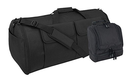 Black Code Alpha Hybrid Garment Duffel Bag And Toiletry Kit