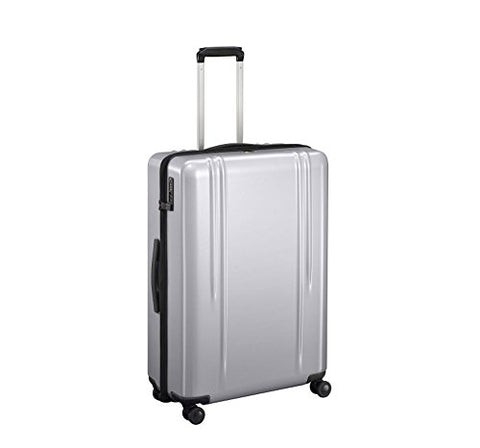 "Zero Halliburton ZRL 28"" Hardside Lightweight Spinner Luggage in Silver"
