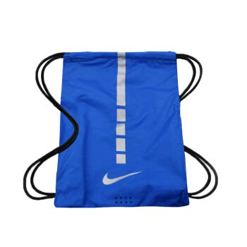 Nike Hoops Elite Gym Sack 2.0 Drawstring Bag - One Size, Game Royal/Black/Metallic Cool Grey (BA5552 480)