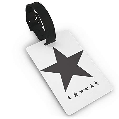 Hizhogqul David Bowie - Blackstar Luggage Tags, Bag Tag Travel ID Labels Tag For Baggage