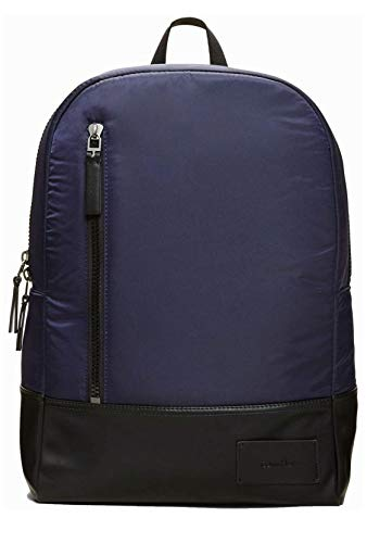 Calvin Klein Travel Backpack Shoulder Straps Nylon and Leather FE F17 CKJA GEARED BCKPCK 1328-469