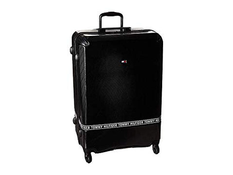"Tommy Hilfiger Unisex 28"" Courtside Upright Suitcase Black One Size"