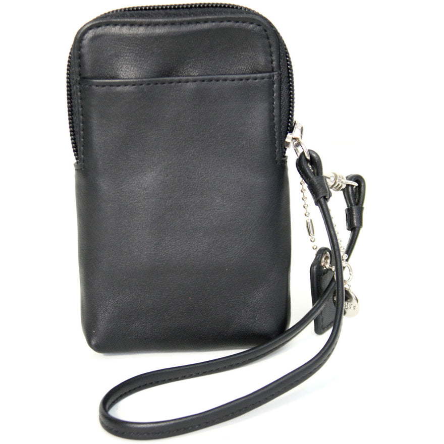 Royce Leather iPhone Credit Card Wristlet