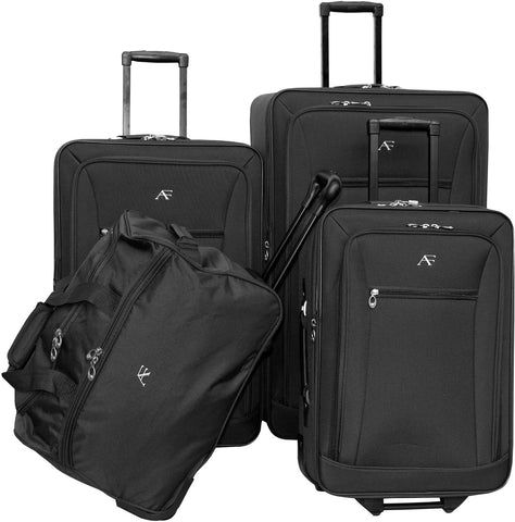 American Flyer Brooklyn 4 Piece Luggage Set