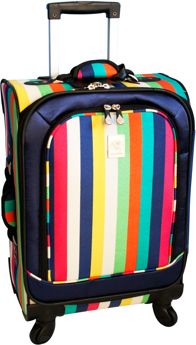 Jenni Chan Multi Stripes 21in Upright Spinner