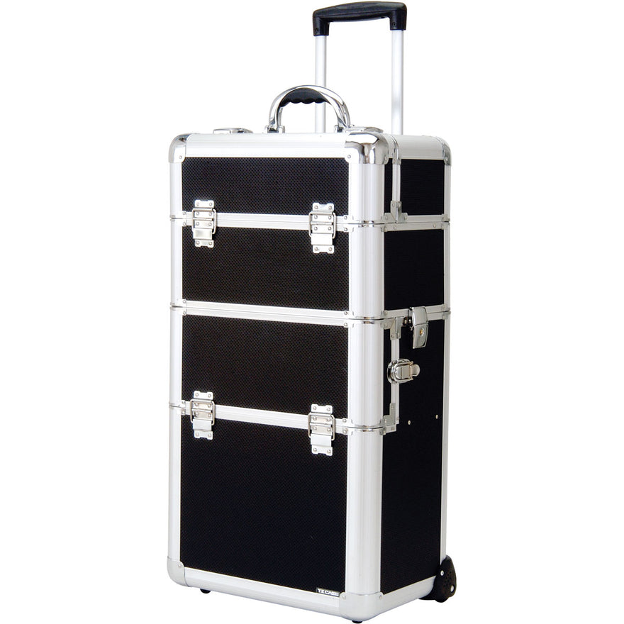 T.Z. Case Beauty Cases Professional Deep Well Wheeled Make Up Case