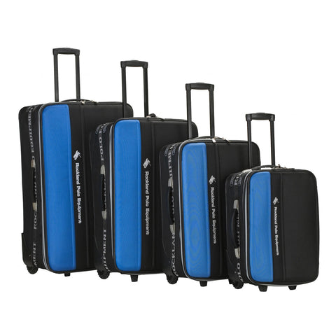 Rockland Luggage Polo Equipment Explorer 4 Piece Luggage Set