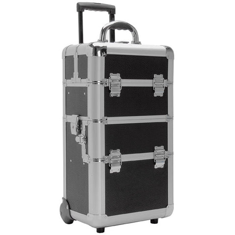 T.Z. Case Beauty Cases Mini-Pro 21in Movable Divider Deep Well Wheeled Case