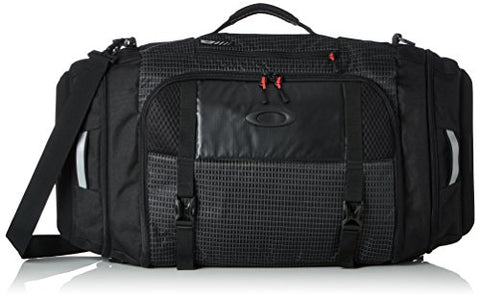 Oakley Mens Link Duffel Bag One Size Jet Black