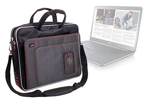 "Duragadget ""Travel"" Professional Quality 15.6"" Laptop Bag / Carry Case With Super Strong Padded"