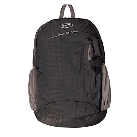 "Olympia Denali 19"" Packable Daypack Backpack, Black, One Size"
