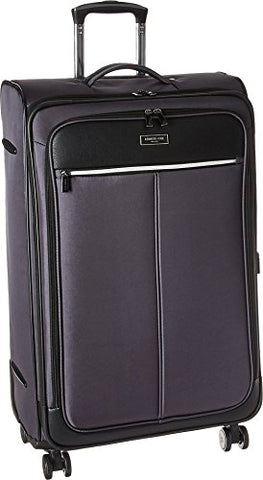 "Kenneth Cole Reaction Unisex Class Transit 2.0-28"" Expandable 8-Wheel Upright Charcoal One Size"