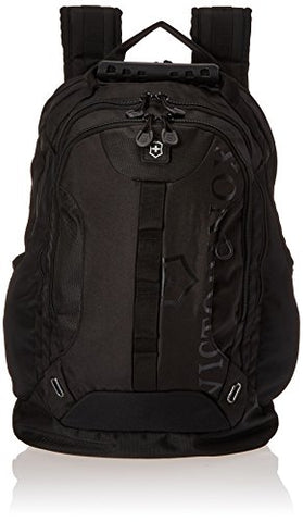 Victorinox Vx Sport Trooper Laptop Backpack, Black/Black Logo