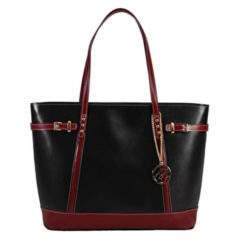 Mckleinusa Serafina 97565 Black Leather Women'S Business Tote