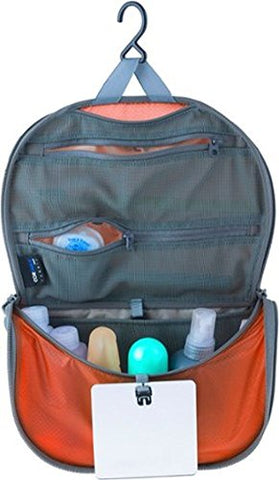 Sea To Summit Travelling Light Hanging Toiletry Bag - Orange Small