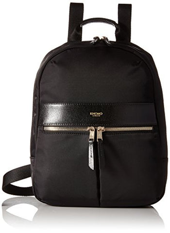 Knomo Luggage Mayfair Nylon Beauchamp Mini 10-Inch Backpack, Black, One Size