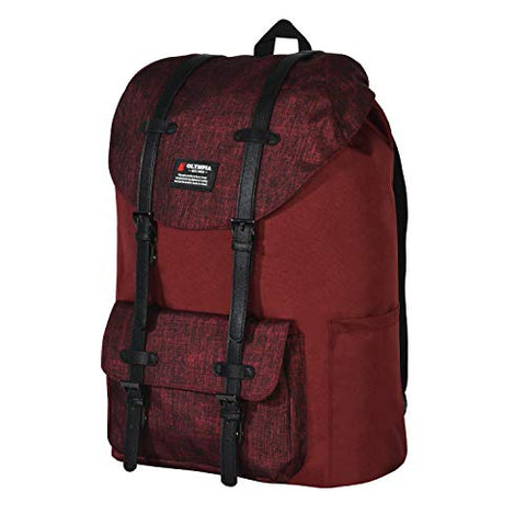 "Olympia Cambridge 18"" Backpack, Burgundy, One Size"