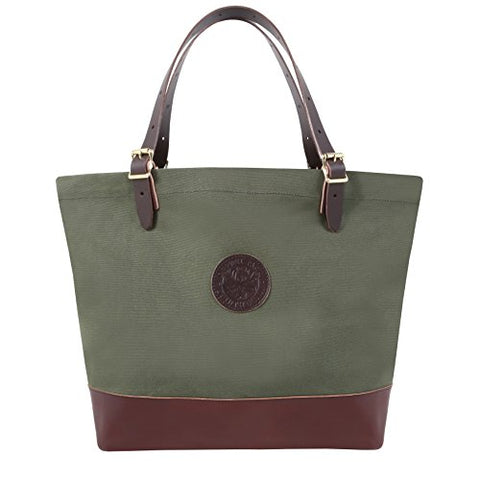Duluth Pack Market Deluxe Tote (Olive Drab)