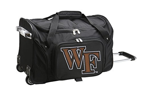 Ncaa Wake Forest Demon Deacons Wheeled Duffle Bag