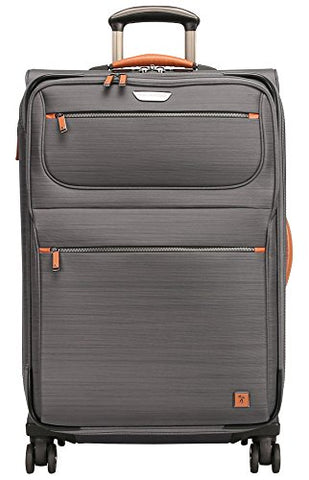 Ricardo Beverly Hills San Marcos 25-Inch Spinner Upright Suitcase, Gray