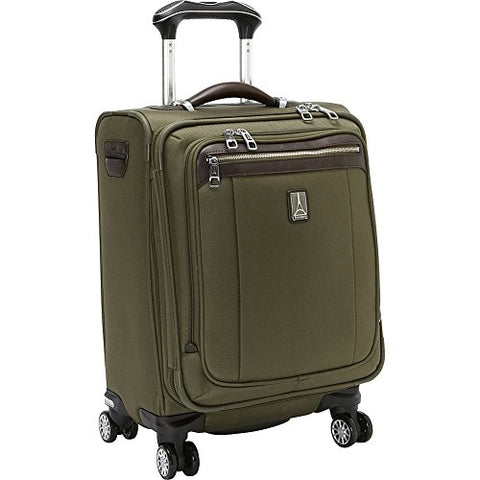 Travelpro Platinum Magna 2 International Carry-On Expandable Spinner Carry-On Suitcase, 20-in., Olive