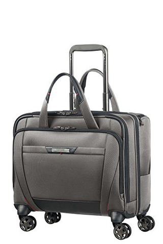 SAMSONITE PRO-DLX 5 - Spinner Tote for 15.6'' Laptop 3.3 KG Travel Tote, 44 cm, 22 liters, Grey