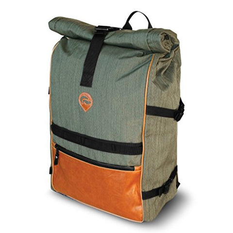 Vatra Skunk Rollup Backpack Olive Green - Smell Proof - Water Proof