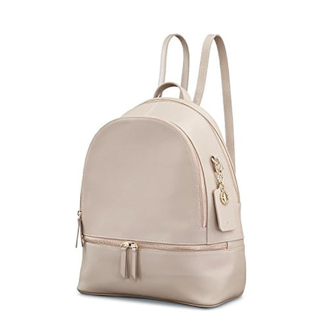 Samsonite Ladies Leather City Backpack Light Grey