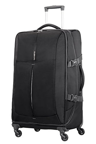 Samsonite Suitcase, BLACK/SILVER