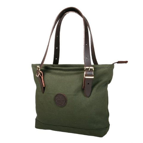 Duluth Pack Lakewalk Tote, Olive Drab, 11 X 15 X 3.5-Inch