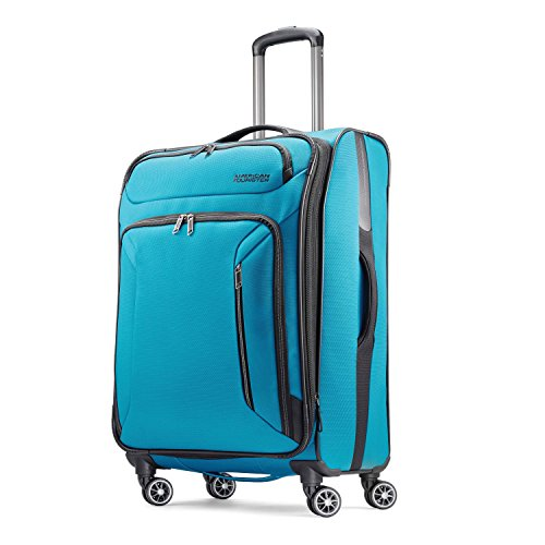 American Tourister Zoom 25 Spinner, Teal Blue
