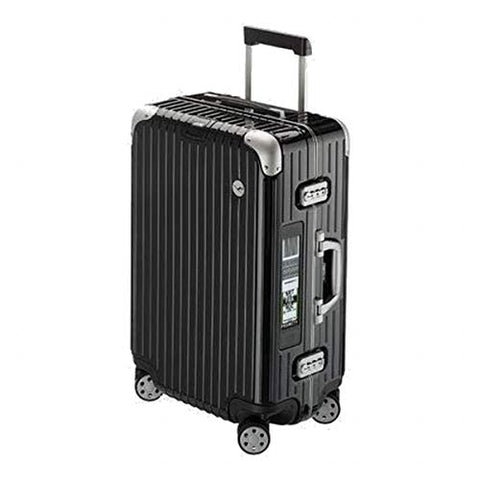 RIMOWA Lufthansa Elegance Collection suitcase 59.5L Electronic Tag Black