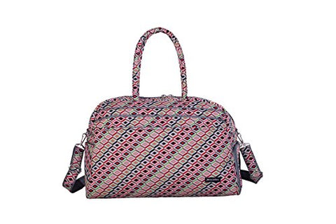 Jenni Chan Tiles Gym Duffel, Multi