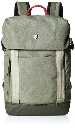 Victorinox Altmont Classic Deluxe Flapover Laptop Backpack, Olive, One Size