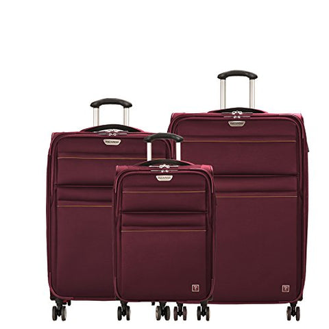 Ricardo Beverly Hills Mar Vista 2.0 | 3-Piece Set | 21 C/O, 25 And 29-Inch Spinners (Wine)
