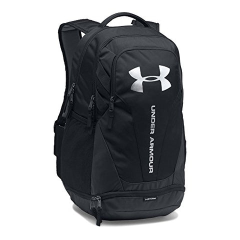 Under Armour Hustle 3.0 Backpack, Black/Black, One Size