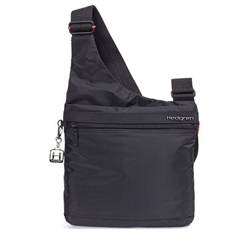 Hedgren Fate Crossover Bag With Rfid Protection, Women'S, One Size (Black)