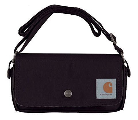 Carhartt Legacy Women'S Essentials Crossbody Bag And Waist Pouch, Black
