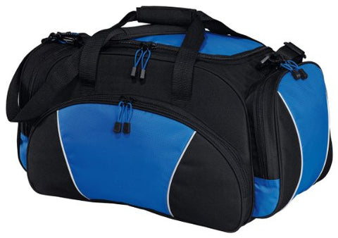 Port & Company - Metro Duffel. Bg91 - Black / Royal
