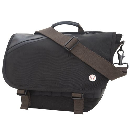 Token Bags Grand Army Messenger, Black, One Size