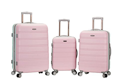 Rockland Luggage Melbourne 3 Piece Set, Mint