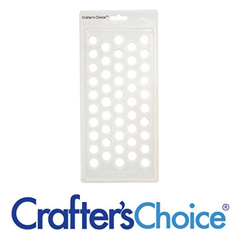 Crafter's Choice - Lip Balm Tube Filling Tray - Silicone Tray for Filling Lip Balm Tubes and