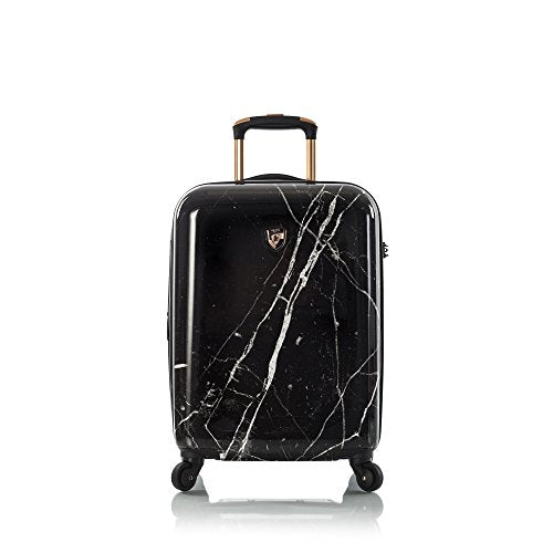"Heys Dakara Black Marble 21"" Fashion Spinner Carry-On"