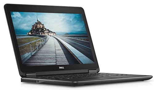 "2017 Dell Latitude E7240 Flagship Business Laptop, 12.5"" Full HD Touchscreen, Intel Core i7-4600U, 8GB DDR3L RAM, 512GB SSD, Webcam, Windows 10 Professional (Certified Refurbished)"