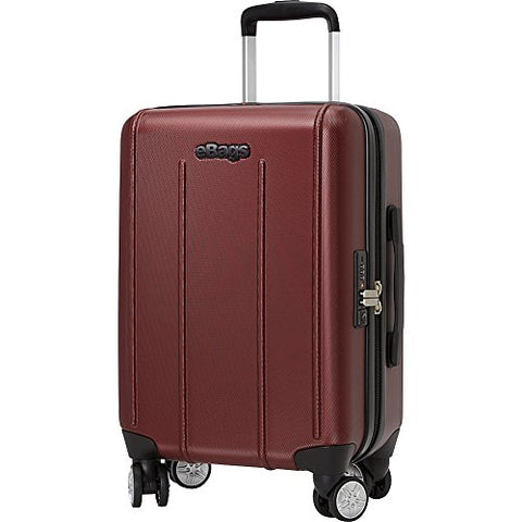 Ebags Exo 2.0 Hardside Spinner Carry-On (Metallic Red)
