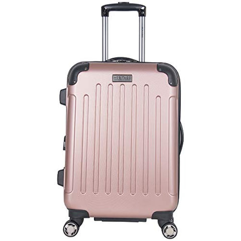 "Heritage Travelware Logan Square 20"" Lightweight Hardside Expandable 8-Wheel Spinner Carry-On"